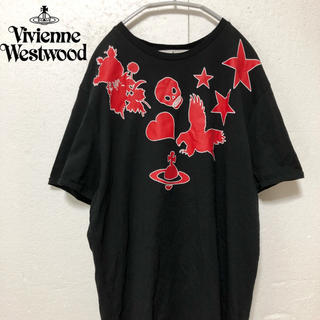 ヴィヴィアンウエストウッド(Vivienne Westwood)の【VivienneWestwood】オーヴプリント カットソー(カットソー(半袖/袖なし))