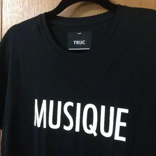 ラッドミュージシャン(LAD MUSICIAN)のTRUC Tシャツ ブラック(Tシャツ/カットソー(半袖/袖なし))