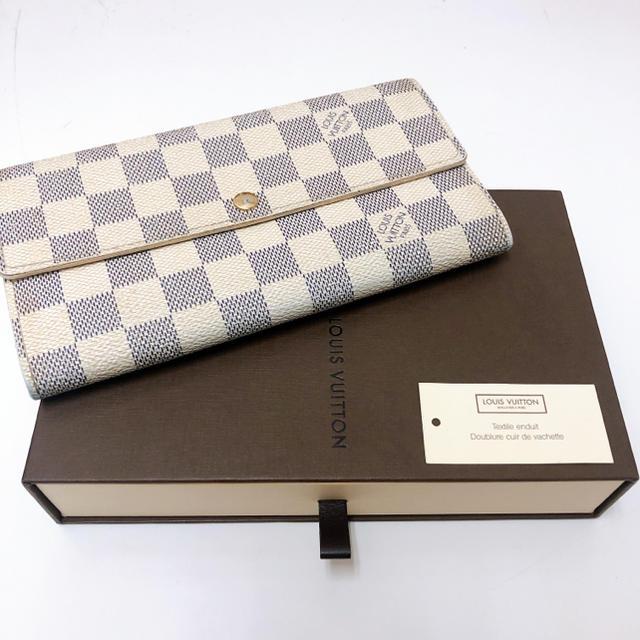クロエ エロイーズ バッグ スーパー コピー 、 ルイビトン  ダミエ  長財布  人気のホワイトの通販 by 隼人's shop|ラクマ