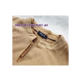 コムサイズム(COMME CA ISM)の未使用★コムサイズム 長袖Tシャツ 重ね襟(Tシャツ/カットソー(七分/長袖))