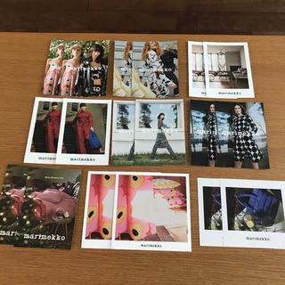 マリメッコ(marimekko)の新品 未使用 マリメッコ  ポストカード 9種類 18枚セット(写真/ポストカード)