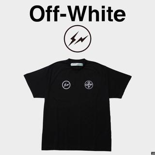 フラグメント(FRAGMENT)の fragment design off-white コラボTシャツ  (Tシャツ/カットソー(半袖/袖なし))