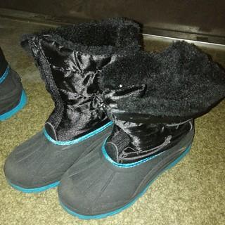 イング(INGNI)の雪遊び★ファスナー付き★SNOWブーツ★23cm(ブーツ)