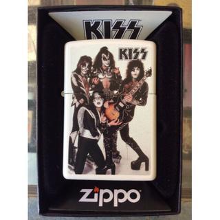 ジッポー(ZIPPO)のZippo キッス KISS ハードロック 音楽 49017(タバコグッズ)