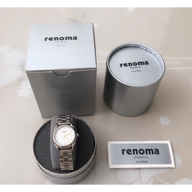 RENOMA - S056 新品同様★ renoma レノマ レディース 腕時計 箱付きの通販 by Only悠's shop|レノマならラクマ