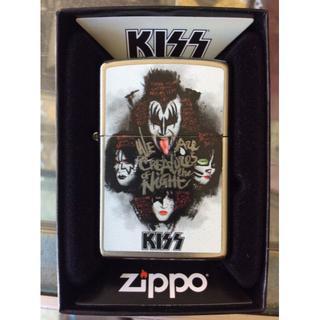 ジッポー(ZIPPO)のZippo キッス KISS ハードロック 音楽 49018(タバコグッズ)