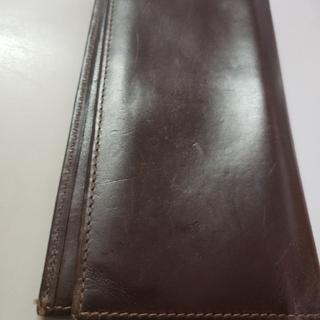 ホワイトハウスコックス(WHITEHOUSE COX)の茶色 長財布 WhiteHouseCOX(長財布)