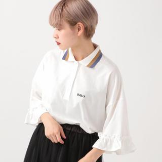 フリルポロシャツ(ポロシャツ)
