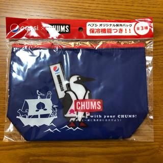 チャムス(CHUMS)のチャムス 保冷バッグ(ブルー)(弁当用品)
