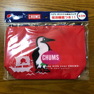 チャムス(CHUMS)のチャムス 保冷バッグ(レッド)(弁当用品)