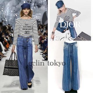 クリスチャンディオール(Christian Dior)の新品同 ディオール 2018 デニム パンツ コレクション着 ジーンズE1492(デニム/ジーンズ)