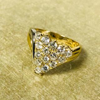 ジュエリーマキ - ダイヤ  デザイン リング k18