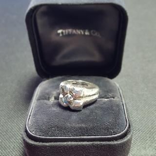 ティファニー(Tiffany & Co.)のTiffany ハマードフラワー リング ITALY (リング(指輪))