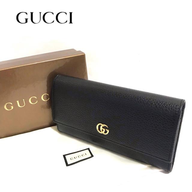 Gucci - 【正規品】新品✨GUCCI/長財布/プチマーモント/グッチの通販 by vero|グッチならラクマ