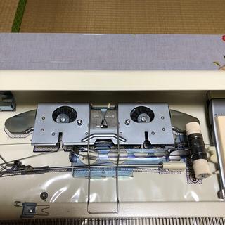 ブラザー(brother)のブラザー編み機 Toropical  KHー910と編み台(その他)