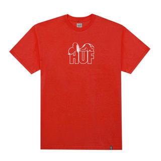 ハフ(HUF)の新品 HUF×PEANUTS コラボTシャツ(Tシャツ/カットソー(半袖/袖なし))