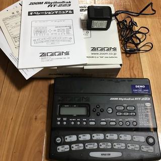 ズーム(Zoom)のリズムマシン ZOOM RT-223 ズーム 付属品完備 美品(その他)
