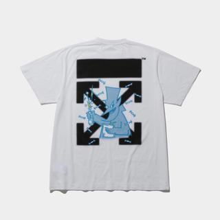 フラグメント(FRAGMENT)の藤原ヒロシのfragment X off white コラボTシャツ(Tシャツ/カットソー(半袖/袖なし))