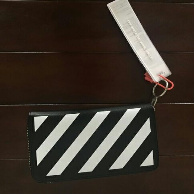 OFF-WHITE - オフホワイト長財布の通販 by 's shop|オフホワイトならラクマ