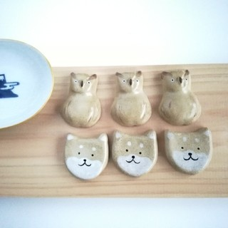 シマエナガ 箸置きセット(キッチン小物)