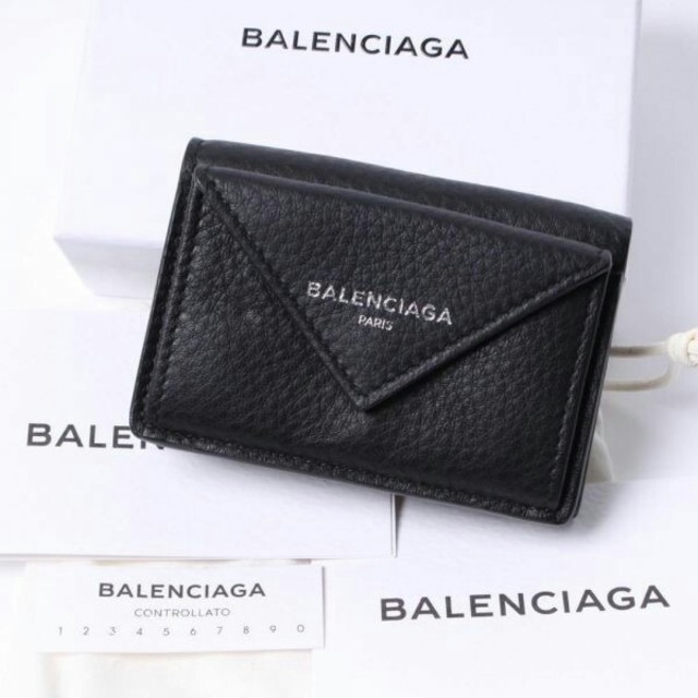 Balenciaga - BALENCIAGA ミニ財布 三つ折り財布 ペーパーミニウォレットの通販 by ヨシオ-supreme's shop|バレンシアガならラクマ