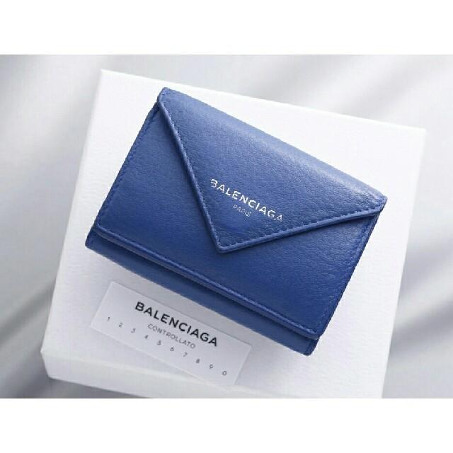 Balenciaga - BALENCIAGA バレンシアガ 本革 三つ折 ミニ財布の通販 by ヨシオ-supreme's shop|バレンシアガならラクマ