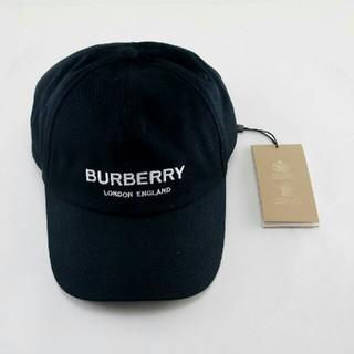 BURBERRY - burberry バーバリー キャップ 黒 男女通用