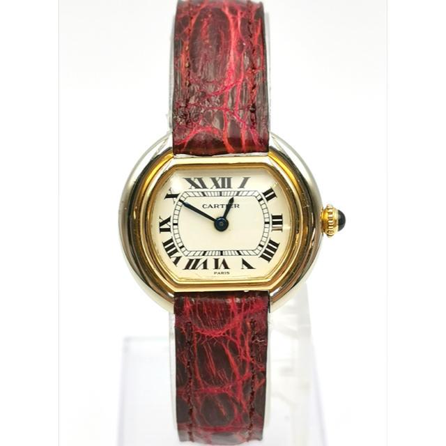 Cartier - Cartier  カルティエ  K18YG/K18WG  エリプス  時計の通販 by MAU|カルティエならラクマ
