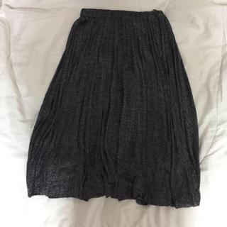ウィゴー(WEGO)のwego ラメスカート(ひざ丈スカート)
