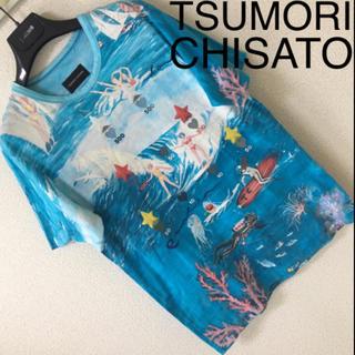 ツモリチサト(TSUMORI CHISATO)の◆TSUMORI CHISATO ツモリチサト◆マリンガールズ Tシャツ 2 M(Tシャツ/カットソー(半袖/袖なし))