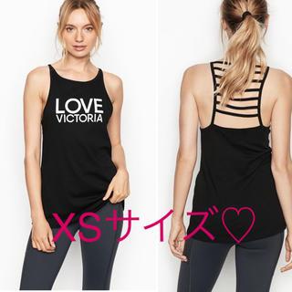 Victoria's Secret - 最新作♡タンクトップ VSX XSサイズ♡新品未使用 ブラック