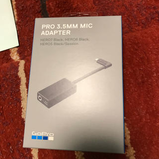 ゴープロ(GoPro)のGoPro 3.5mm マイクアダプター AAMIC-001 (その他)