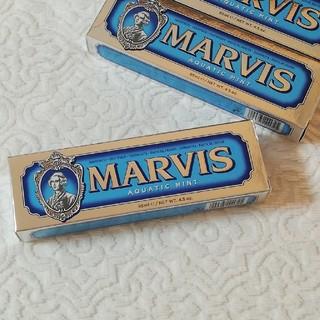マービス(MARVIS)のMARVIS 85ml aquatic mint☆85ml(歯磨き粉)