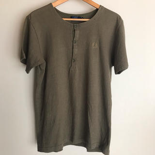 フレッドペリー(FRED PERRY)のフレッドペリー カーキ Tシャツ M(Tシャツ/カットソー(半袖/袖なし))