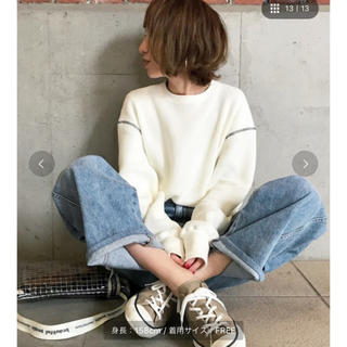 BEAUTY&YOUTH UNITED ARROWS - 6(ROKU)>THERMAL COLOR STITCH LONG SLEEVE