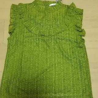 スライ(SLY)のSLYノースリーブシャツ(シャツ/ブラウス(半袖/袖なし))