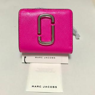 マークジェイコブス(MARC JACOBS)の新品 マークジェイコブス スナップショット ミニ財布(財布)