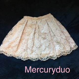 マーキュリーデュオ(MERCURYDUO)のマーキュリーデュオ☆レーススカート(ミニスカート)