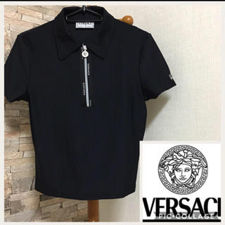 ヴェルサーチ(VERSACE)のベルサーチ ポロシャツ(Tシャツ(半袖/袖なし))