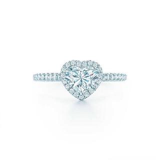 ティファニー(Tiffany & Co.)の〈y様商談中〉ティファニー ソレスト ハート ダイヤリング(リング(指輪))