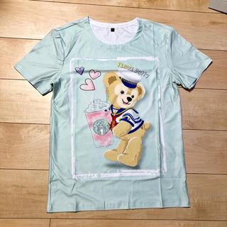 ダッフィー(ダッフィー)の新品✨ダッフィー  Tシャツ(Tシャツ(半袖/袖なし))
