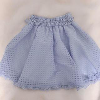 リズリサ(LIZ LISA)のLIZ LISA スカイブルー スカート(ひざ丈スカート)