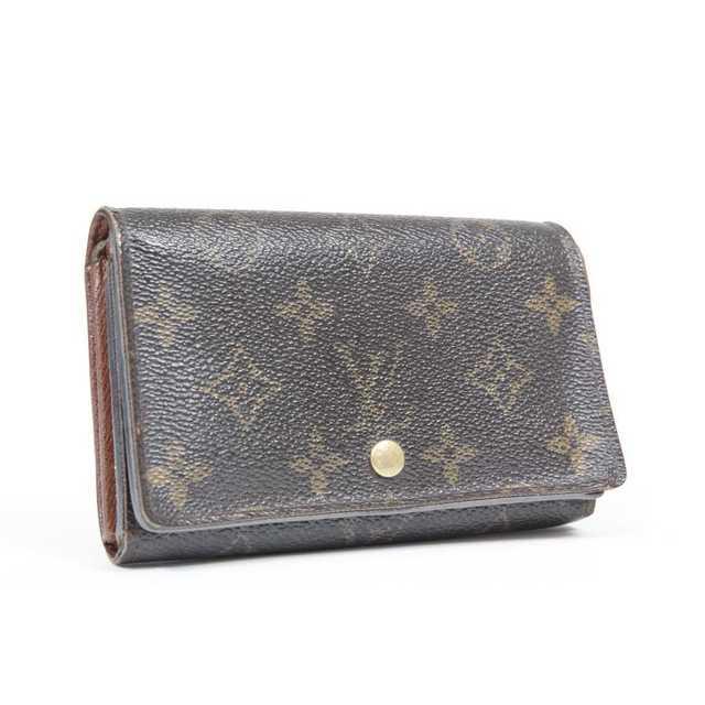 LOUIS VUITTON - 交渉歓迎 本物 美品 ルイヴィトン モノグラム 二つ折り財布の通販 by ご希望教えてください's shop|ルイヴィトンならラクマ