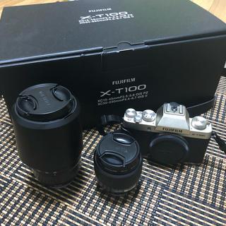 富士フイルム - 富士フイルム X-T100 ミラーレス 一眼 カメラ