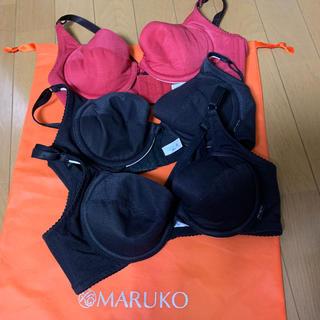 マルコ(MARUKO)のぴっぷー様専用●まとめ売りB75ブラ●m-fit●3枚セット(ブラ)