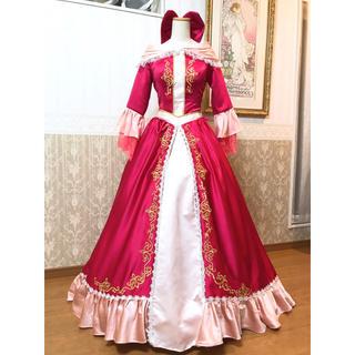 ディズニー(Disney)の❁Dハロ❁美女と野獣 ベル 愛の芽生えドレス デラックス衣装❁新品(その他ドレス)