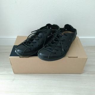 トリッペン(trippen)のtrippen トリッペン★breeze black レザーシューズ 黒 36(ローファー/革靴)
