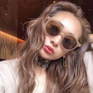 アメリヴィンテージ(Ameri VINTAGE)のサングラス ベージュ レディース 新品 KLEAR UVカット 韓国ファッション(サングラス/メガネ)