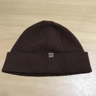 ステューシー(STUSSY)のニット帽(ニット帽/ビーニー)