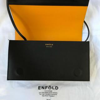 エンフォルド(ENFOLD)のENFOLD エンフォルド レザー ショルダー バッグ(ショルダーバッグ)